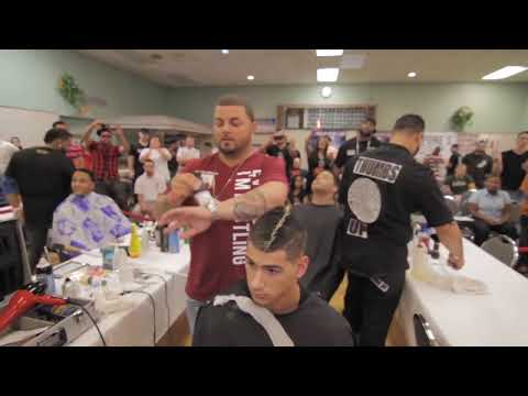 Jay Major League 1st Place Platinum Shears Mass Barber Battle 2011