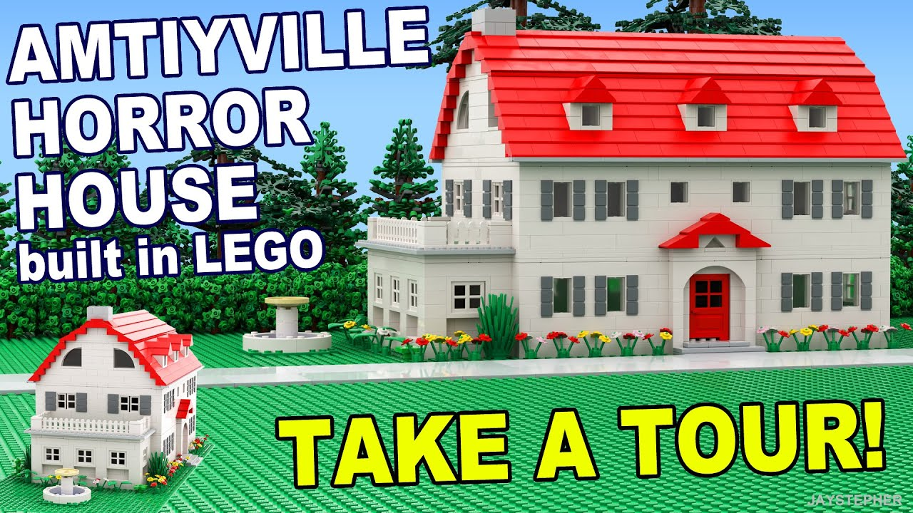 Custom build lego amityville horror house home cc for Custom build your home