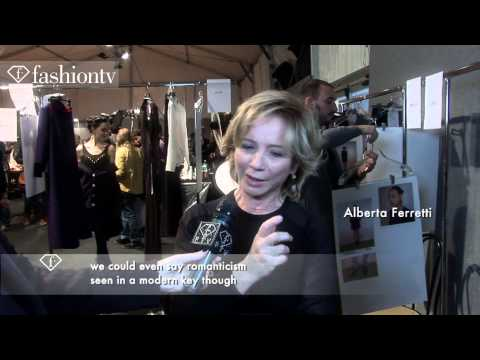 Alberta Ferretti Fall/Winter 2013-14 BACKSTAGE | Milan Fashion Week MFW | FashionTV