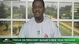 TVC Breakfast 1st Jan. 2019 | Focus on President Buhari's New Year Message