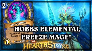 Hobbs Elemental Freeze Mage ~ Knights of the Frozen Throne Expansion Hearthstone Heroes of Warcraft