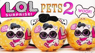 LOL SURPRISE PETS WAVE 2 SERIES 3 CATS DOGS BLIND BAG TOYS POPSY TOYS
