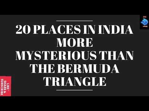 20 Places In India More Mysterious Than The Bermuda Triangle