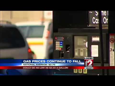 Gas prices may fall to $2.50 for the holiday season