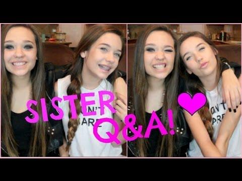 Sister Q&A! ♡