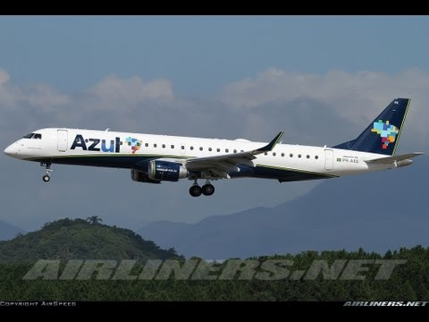 FS2004   Landing at Belo Horizonte ConfinsCNF)with Embraer 195 200AR Azul Arriving From: Campinas-Viracopos(VCP) Registration of Aircrafth: PR-AXQ