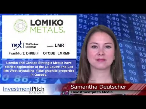 Lomiko Metals (TSXV: LMR) and Canada Strategic Metals (TSXV: CJC) Joint exploration project