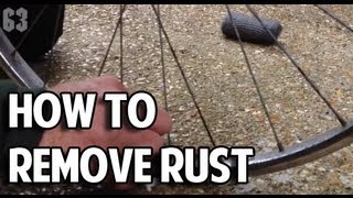 How To Remove Rust From Your Bike