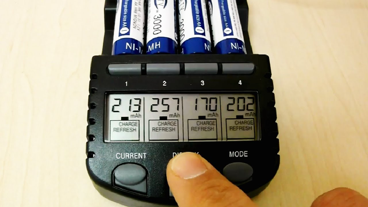 Test Bty Rechargeable 1 2v Quot 3000mah Quot Ni Mh Aa Batteries