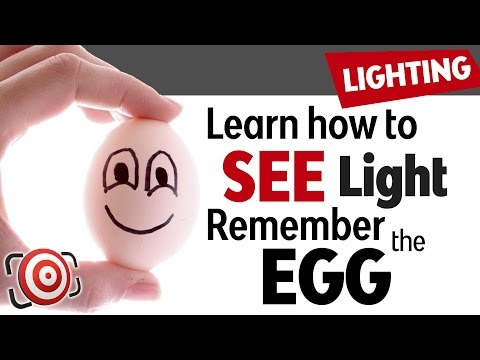 Photography Lighting Lesson - Remember the EGG