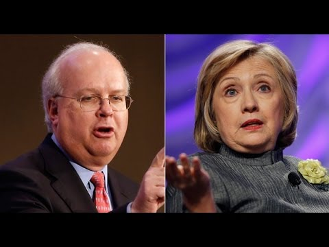Disgusting: Karl Rove Spreads Hillary Clinton Brain Damage Conspiracy