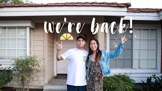 We're Back! (and we're moving in together!)