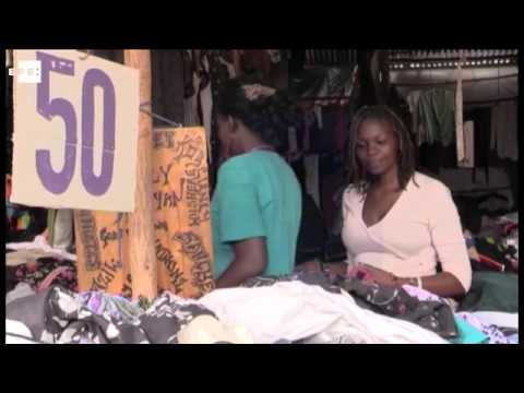 Lucrative donated clothes damages Kenya's textile industry