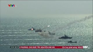 Việt Nam công khai hình ảnh tàu chiến và tàu ngầm phóng tên lửa