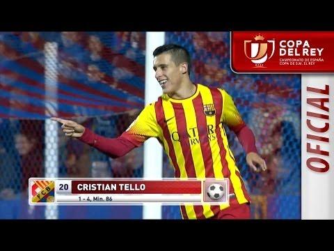 Todos los goles de Levante UD (1-4) FC Barcelona Copa del Rey