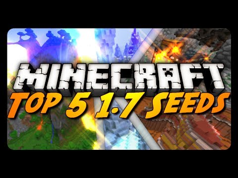 TOP 5 | EPIC MINECRAFT 1.7 SEEDS! | By AntVenom!