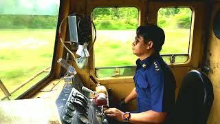รถไฟไทย มาดูการขับรถไฟกัน ชัดแบบนี้หาดูยากReal Train Driver