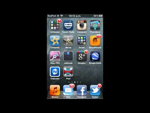 Poof: Esconde/Oculta aplicaciones en tu iPod - iPad - iPhone