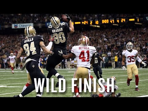 In a back-and-forth thriller in New Orleans, the 49ers edged the Saints in overtime 27-24 thanks to Ahmad Brooks' strip/sack and a controversial penalty on New Orleans' Hail Mary attempt. ...
