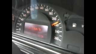 mercedes c 220 cdi top speed 217 kmh