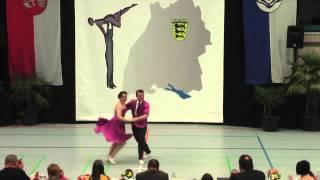 Amina Gall & Marvin Kiel - LM Baden-Württemberg & Hessen 2015