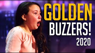 ALL GOLDEN BUZZERS On America's Got Talent 2020!