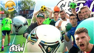 Ultimative XXL CREW Fußball Challenge !!!