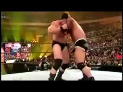 Goldberg Vs Brock Lesnar Wrestlemania 20 Highlights video