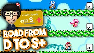 STUNNING Comeback Victories in Super Mario Maker 2 Multiplayer Versus Mode – Road to S+ #12