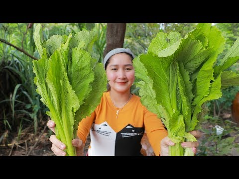Tasty Filleted Fish Style Cooking Spinach Soup - Cooking With Sros