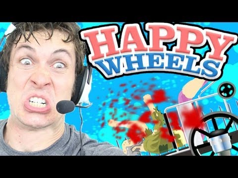 Happy Wheels - SPIKE SITTING