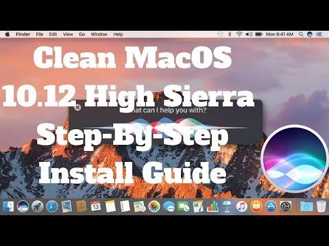 How to Clean Install macOS Sierra | Sierra step-by-step install guide | MacOS 10.12 Sierra