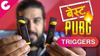 BEST PUBG MOBILE TRIGGERS! 😍🔥 How to Play PUBG Like a Pro! (Hindi)