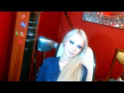 Valeria Lukyanova Amatue 21 о сыроедении Raw Food Diet doll barbie anime angel blonde