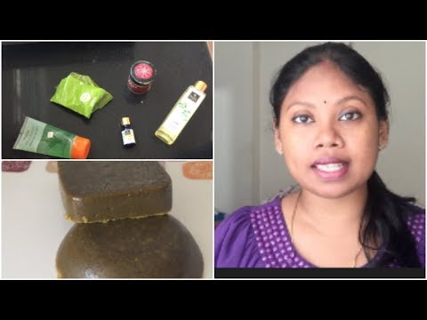 DIY Summer Soap  ||Get Healty Glowing Skin || Homemade Neem Soap for all skin types