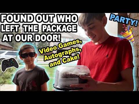 FAN SPENDS DAY AT OUR HOUSE!!