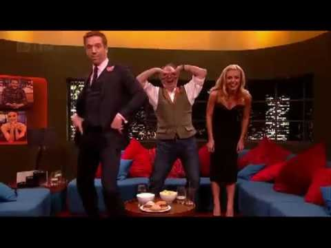 Damian Lewis does Gangnam Style