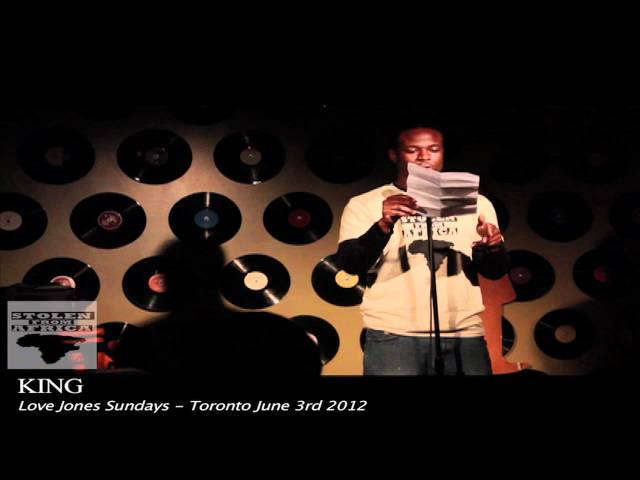 "[Part 3] Love Jones Sundays w/ Spoken Word artist 'KING'  - ""Thorough the eyes of elizabeth"""