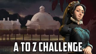 Civ 6 France - Catherine Livestream (A-Z Challenge) Day 2
