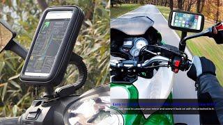 BROLAVIYA ICEBERG MAKERS Universal Motorcycle Rearview Mirror Mount Stand (XL&XXL)