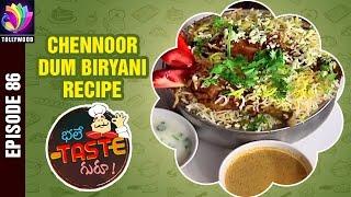 Chennoor DUM BIRYANI Recipe | Chilli Egg | Bhale Taste Guru | Episode 86 | Golconda Chefs Restaurant