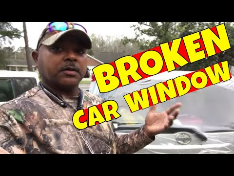 Lawn care business breaks car window and what you should do if this happens to you