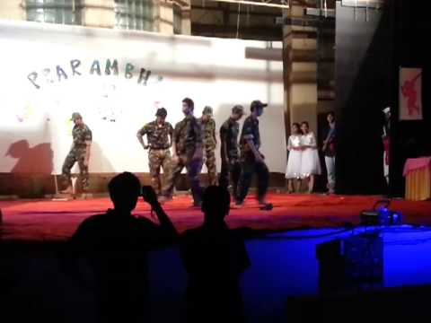 Army Theme Dance By Spce Mechanical video
