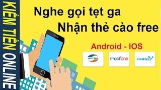 Kiếm thẻ cào miễn phí cho điện thoại  Săn thẻ cào cho IOS và Andorid