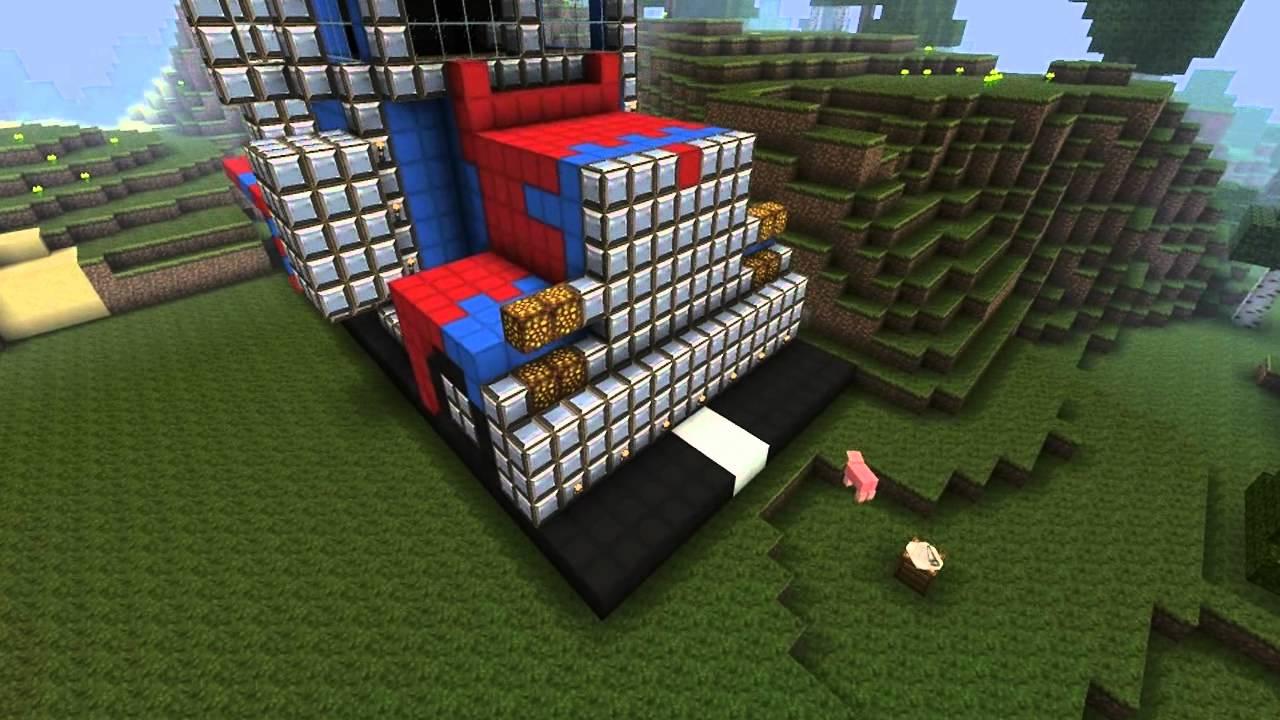 Minecraft Optimus Prime Build