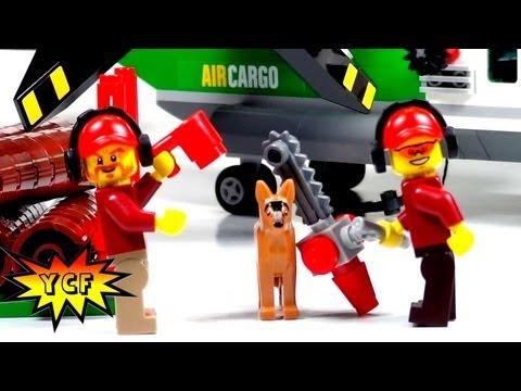 LEGO CITY Cargo Heliplane Review - LEGO 60021