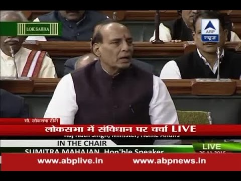 Dr. Ambedkar never talked about leaving India: Rajnath Singh