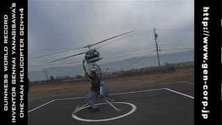Guinness Record Smallest Helicopter GEN-H4 (Pt.3)
