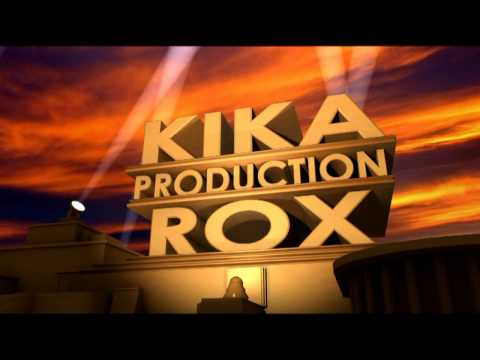 Kika Production RoX Intro - Like 20th Century Fox  intro 16:9 HD