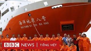 Đụng độ ở Bãi Tư Chính - ý đồ TQ và giải pháp với VN? - BBC News Tiếng Việt